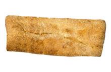 Spaans stokbrood 'coca' met olijfolie