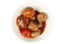 Kippenballetjes in oosterse zoetzure saus