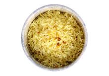 Indische rijst met citroen & mosterdzaad