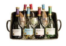 Geschenkmand wijn