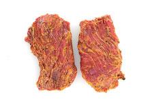 Steak gemarineerd