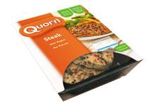 Quorn steak met peper