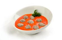 Kippenballetjes in oosterse tomatensaus